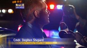 Cmdr Stephen Shepard